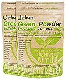 Green Powder – Ultimate Blend - 60 Servings (300g). Vegan, Alkaline & Gluten-Free Super Greens. ✸ The UK's Premium Ultra-Pure Super Food Powder.