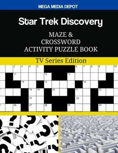 Star Trek Discovery Maze and Crossword Activity Puzzle Book: TV Series Edition