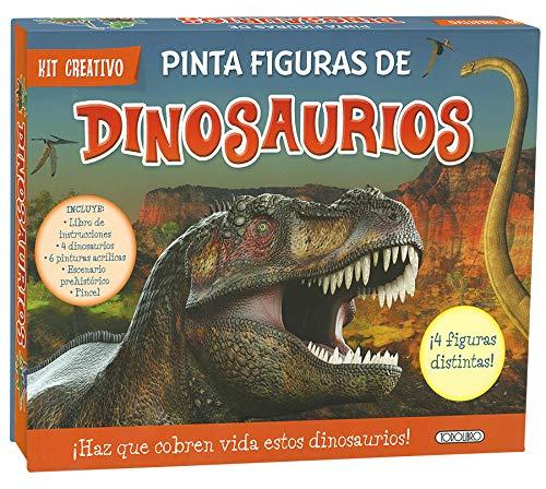 Pinta figuras de dinosaurios (Kit creativo)