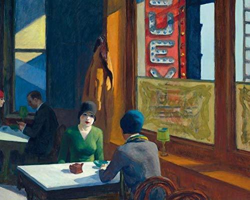 Malen Nach Zahlen Für Erwachsene 40X50cm Frameless Edward Hopper Art Poster Druckt Moderne Malerei Wohnzimmer Home Decor Art