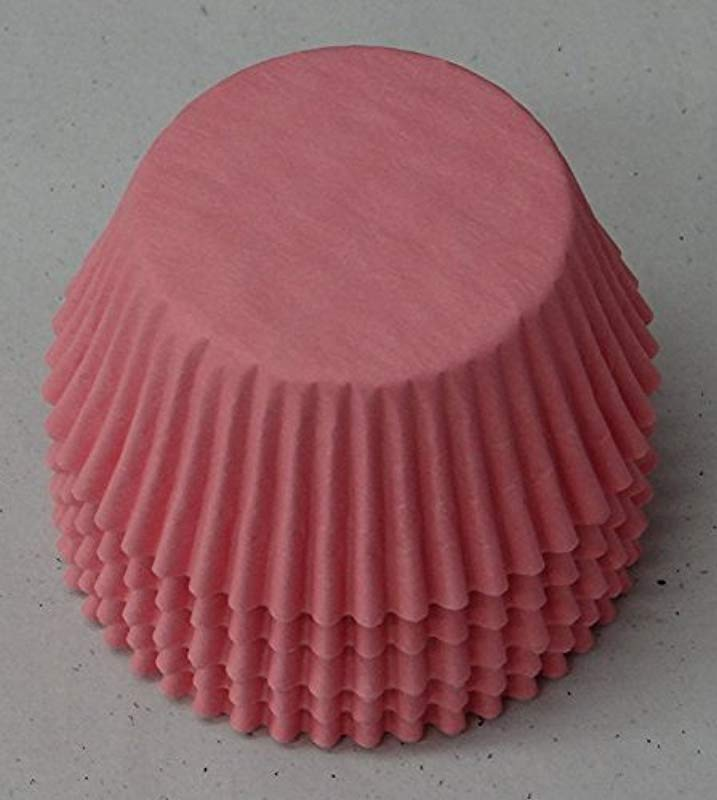 50 Light Pink Cupcake Liners Baking Cups STANDARD SIZE Baby Shower