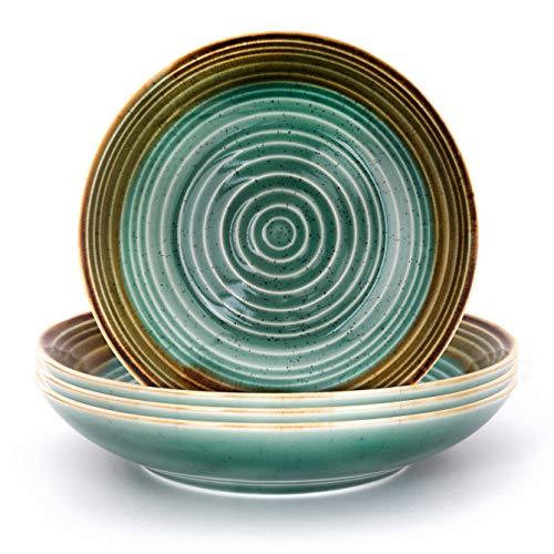 SET 4 Platos hondos Colección Arte para Pasta y Sopa - THE CHEF COLLECTION