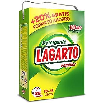 Lagarto Detergente Lavadora + Bote Escamas Jabon - Paquete de 4 x ...