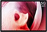 5G WiFi, Tablette Tactile 10.1 Pouces, DUODUOGO S5e Android 10.0 Quad Core 1.6GHz 4Go RAM 64Go ROM/128Go Extensible Tablette PC Portable Pas Cher Google GMS Double Caméra Bluetooth 6000mAh (Gris)