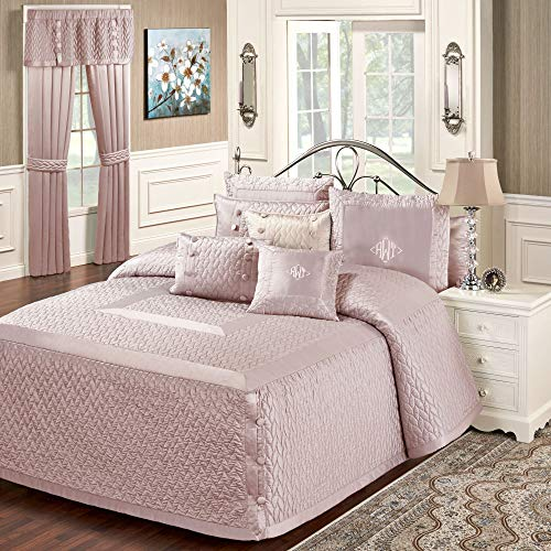 Find Bargain WESTPOINT HOME Silk Allure Grande Bedspread Dusty Mauve