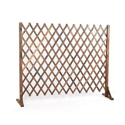Extendible Holzzaun, freistehender Anlage wachsender Support-Bildschirm mit diagonaler Unterstützung, kann for Gartenpartition und Innenhofdekoration verwendet werden (Size : 50cm)
