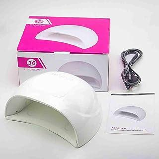 Secadores de UñAs La lámpara Profesional de fototerapia con temporización de inducción Inteligente para el Secado de Clavos no es Negra Mano sin Dolor Lámpara de horneado 220v