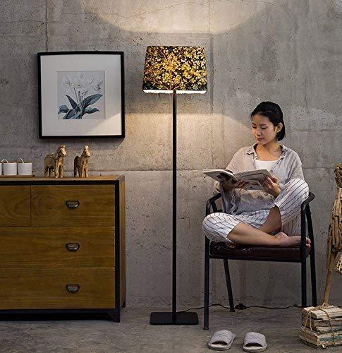 XIN Home staande lamp, vloerstaande lezing, creatieve moderne persoonlijkheid design staande lamp oogbescherming verticale tafellamp
