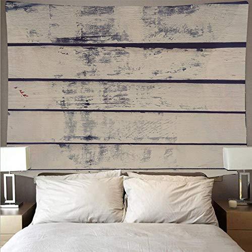 Vintage textura de madera patrón tapiz arte colgante de pared psicodélico decoración del hogar tapiz de tela de fondo A2 130x150cm
