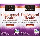 Bravo Teas Cholesterol Health, 20 Tea Bags 2 Pack
