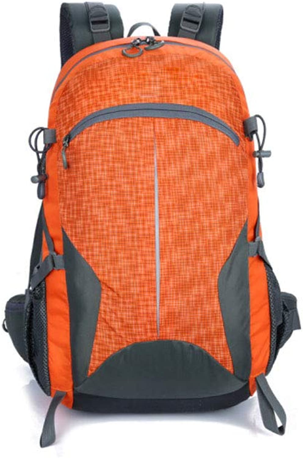 HENG Backpack for Man,Super Breathable and Durable Hiking Backpack, Green for Hiking, Traveling & Camping (color   orange)