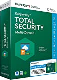 Combo Pack- Kaspersky Total Security Latest Version- 1 User, 1 Year (CD) +