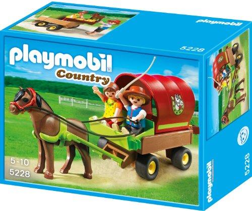 Playmobil 5228 - Kinder-Ponywagen