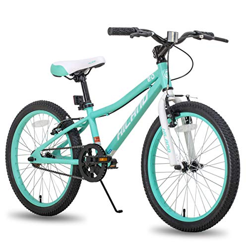Hiland 20 Inch Kids Bike Bicycle for Ages 5 6 7 8 9 Years Old Girls Mint Green