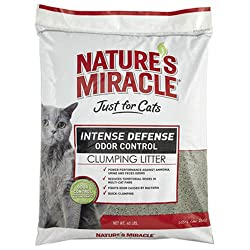 Nature's Miracle Intense Defense Clumping Cat Litter