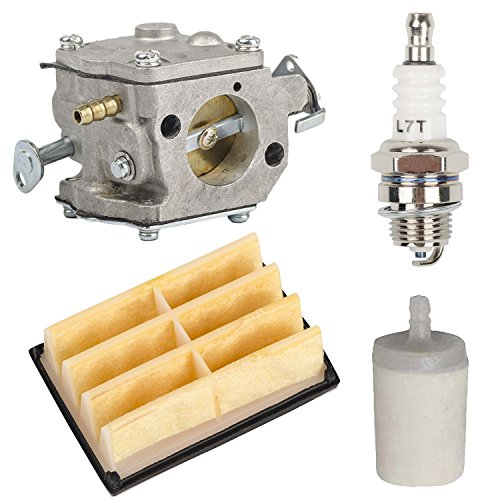 OxoxO Replace carbure Tor with Air Filter Fuel filtro Spark Plug for Husqvarna 268 272 272 x p Chainsaw