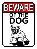 犬の用心 金属板ブリキ看板警告サイン注意サイン表示パネル情報サイン金属安全サイン
