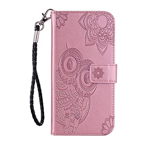 Funda de cuero para Galaxy J4 (2018) Funda de cuero PU Flip Wallet Stand Case con titular de la tarjeta Slim Case Cover con ranuras para tarjetas para Samsung Galaxy J4 2018 - ZIYK010355 Oro rosa