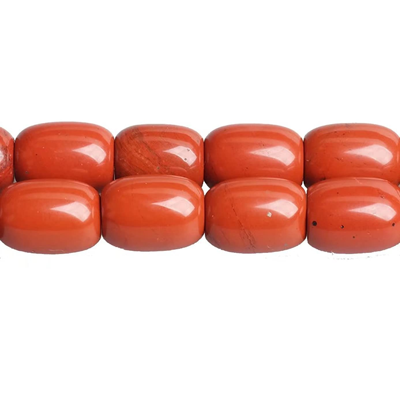 Barrel Shaped 1318mm Red Jasper Stone Loose Beads Lots Supply for DIY Jewelry Craft Beading Sold by One Strand 15 Inch Apx 20 Pcs