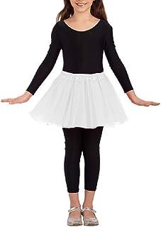 22 Bianco Lungo 2 Strato Increspatura Sottoveste Sotto Gonna Tutu Costume Halloween