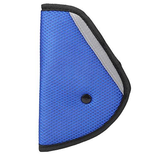 KUIDAMOS Tela de Malla 3 uds, Cinturón de Seguridad para Coche, Almohadilla de Ajuste, cinturón de Seguridad para Coche para niños, para Adultos(Blue)
