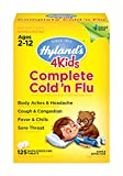Kids Cold and Flu Relief Tablets by Hyland's 4Kids, Complete Cold 'n Flu,...