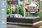 Lisabed Flex – Pack Colchón_2 Almohadas Muelles Ensacados 150x190 - Ito-Flex, viscoelástico de Air de Alta Densidad, Gama Prestige Hotel, 25cm