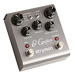 Strymon El Capistan dTape Echo delay pedal with Tap Tempo Review