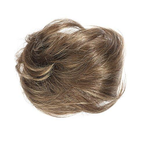 American Dream Chignon 100% Cheveux Humains 4/6/14 Brun Caramel Taille Mini