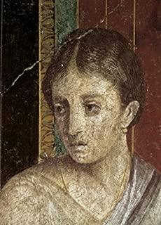 Posterazzi Wall Painting (Detail) c. 60-50 B.C. Artist Unknown Fresco Roman Villa of The Mysteries Pompeii Poster Print (18 x 24) Varies