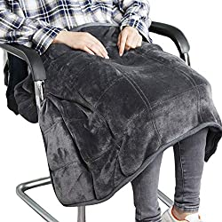 weighted lap pad for young people with autism