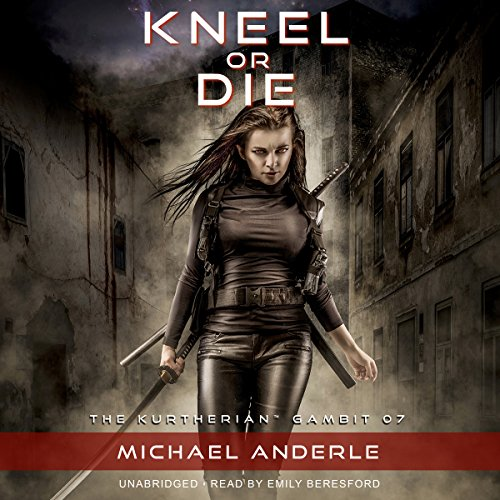 Kneel or Die audiobook cover art