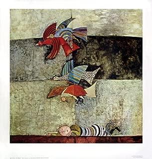 The Dream by Graciela Rodo Boulanger. Fine Art Print Poster (27 x 28.25)