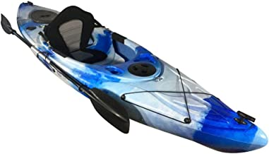 Cambridge Kayaks ES, Herring Azul Y Blanco Kayak DE Paseo Y Pesca, RIGIDO,