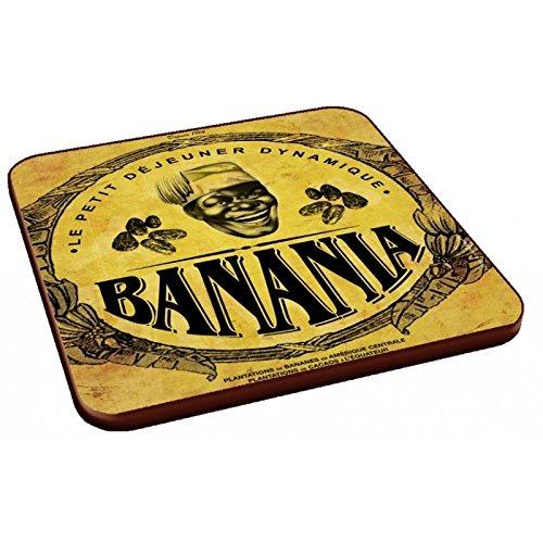 Editions Clouet 34047 - Dessous de Verre (6 visuels Assortis) Banania - Banania