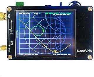 アンテナネットワークアナライザー、50KHz-900MHzデジタルディスプレイタッチスクリーンUHFアンテナアナライザー定在波Nano用