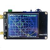 アンテナネットワークアナライザー 50KHz-900MHzデジタルディスプレイタッチスクリーンUHFアンテナアナライザー定在波Nano用