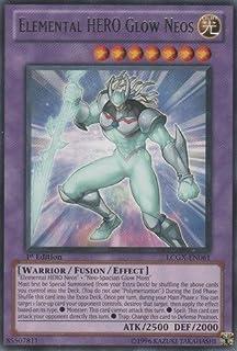 YU-GI-OH! - Elemental Hero Glow Neos (LCGX-EN061) - Legendary Collection 2 - 1st Edition - Rare
