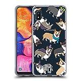 Head Case Designs Corgi Dog Breed Patterns Soft Gel Case Compatible with Samsung Galaxy A10e (2019)
