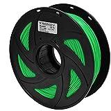 3D Flexible Green TPU Filament 1.75 mm, 2.2 LBS (1KG) Material: TPU,Hardness 95A