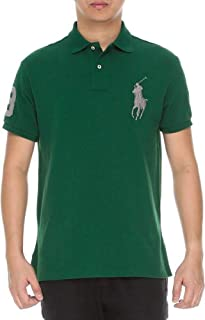 d285650c27bf Polo Ralph Lauren Mens Big Pony Custom Slim Fit Mesh Polo Shirt