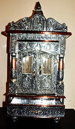 DD's India Hindu Temple for Daily Rituals 28' Shrine Altar Mandir Puja Aarti Prayer (12 9 28)