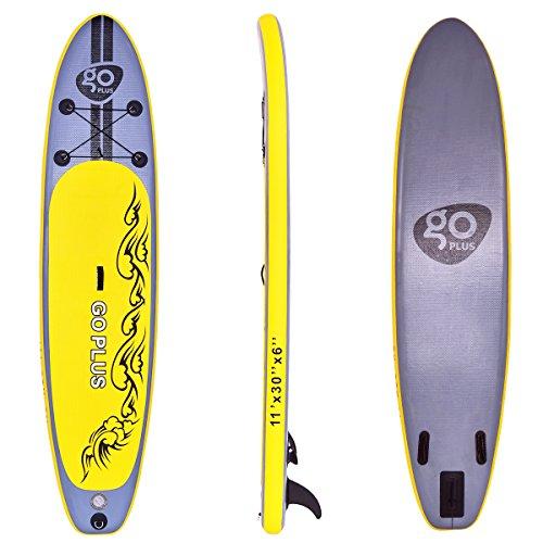COSTWAY SUP-Board Paddelboard Surfboard Paddelbrett Stand Up Board Set 335 * 76 * 15cm aufblasbar