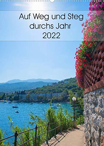 Auf Weg und Steg durchs Jahr 2022 (Wandkalender...