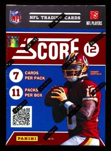 2012 Score Football Blaster Box