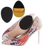 10 pcs Shoe Sole Grips Rubber Anti-Slip Shoe Grips Self-Adhesive Sole Protector Pads Non-Slip Noise Reduction