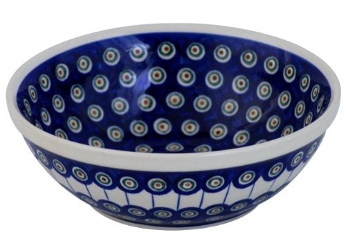 Original Bunzlauer Keramik Schüssel/Schale 2,0L [Form1], Dekor 8