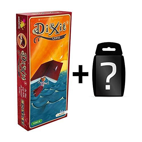 DIXIT - 2 Quest - Erweiterung-2 | DEUTSCH | Erweiterung vom Spiel des Jahres 2010 |Set inkl. Kartenspiel