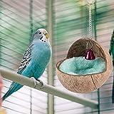 RBSD Cama de cría de Aves, Nido de cría de Aves, decoración del hogar de periquitos, Caja de Nido de cacatúas