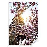 Postereck - 2534 - Eiffelturm, Paris Frankreich Magnolie